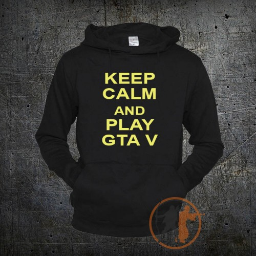 Толстовка Keep Calm GTA 5