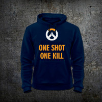 Толстовка One Shot One Kill - Overwatch