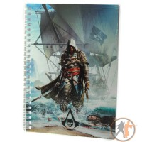 Блокнот Assassins Creed Black Flag