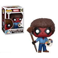 Фигурка Funko POP! Deadpool as Bob Ross - Marvel (30865)