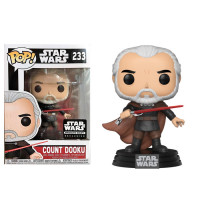Фигурка Funko POP! Count Dooku - Star Wars (182342) (Exc)