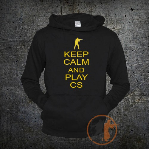 Толстовка Keep Calm and Play CS GO