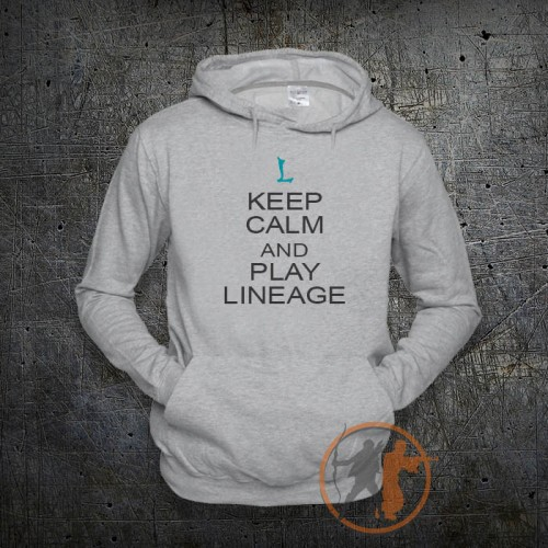 Толстовка Keep calm Lineage 2