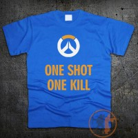 Футболка One Shot One Kill - Overwatch