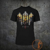 Футболка Diablo 3 Strained Glass Premium Tee