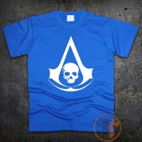 Футболка logo Assassins Creed Black Flag