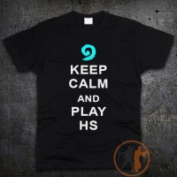 Футболка Keep Calm and play HS