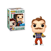 Фигурка Funko POP! The Neighbor with Milk and Cookies - Hello Neighbor (24803)