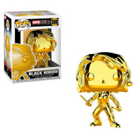 Фигурка Funko POP! Black Widow Gold (Chrome) - Marvel: Studios 10 (33516)