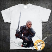 Футболка The Witcher Геральт